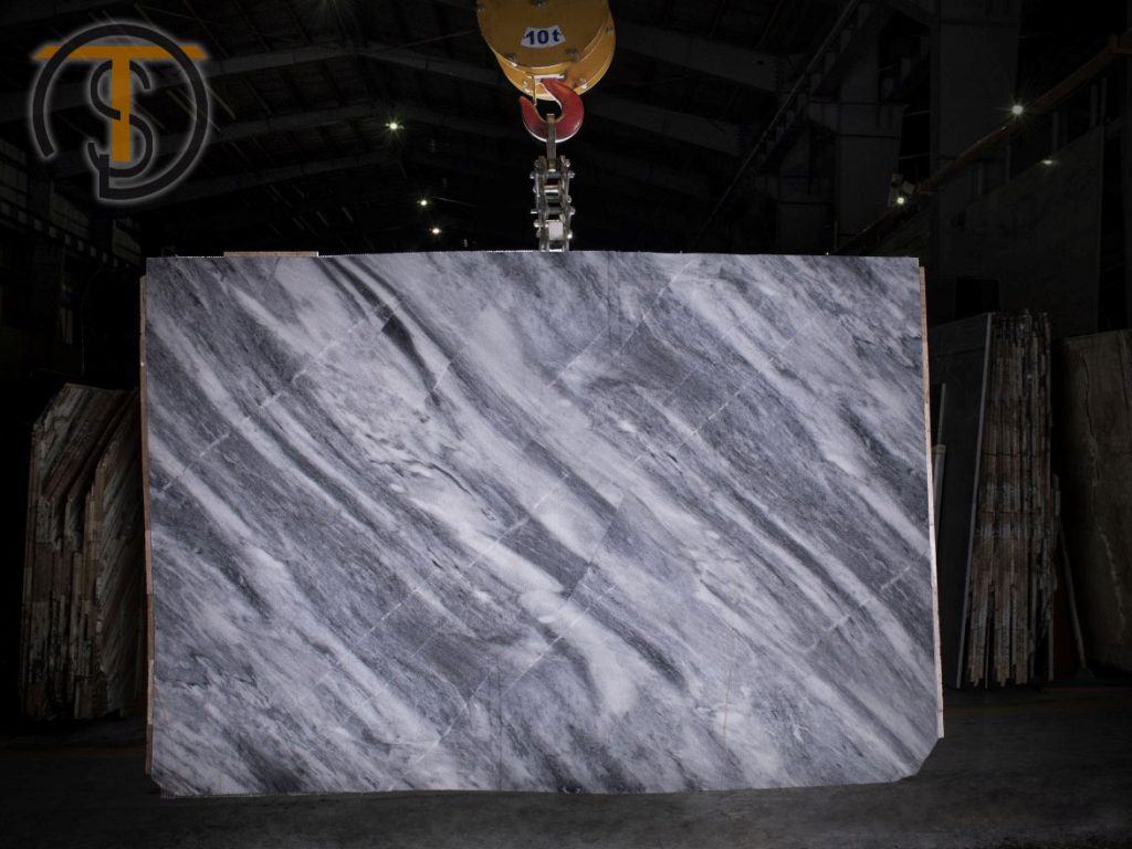 Ice Flower Marble Slab