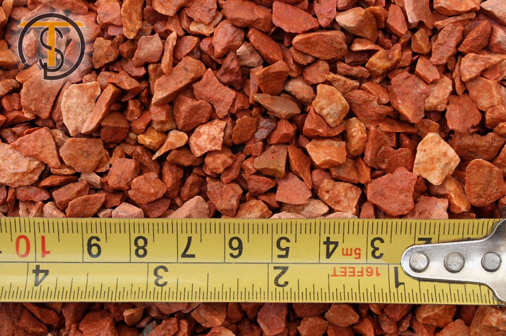 WET Red Marble Chips